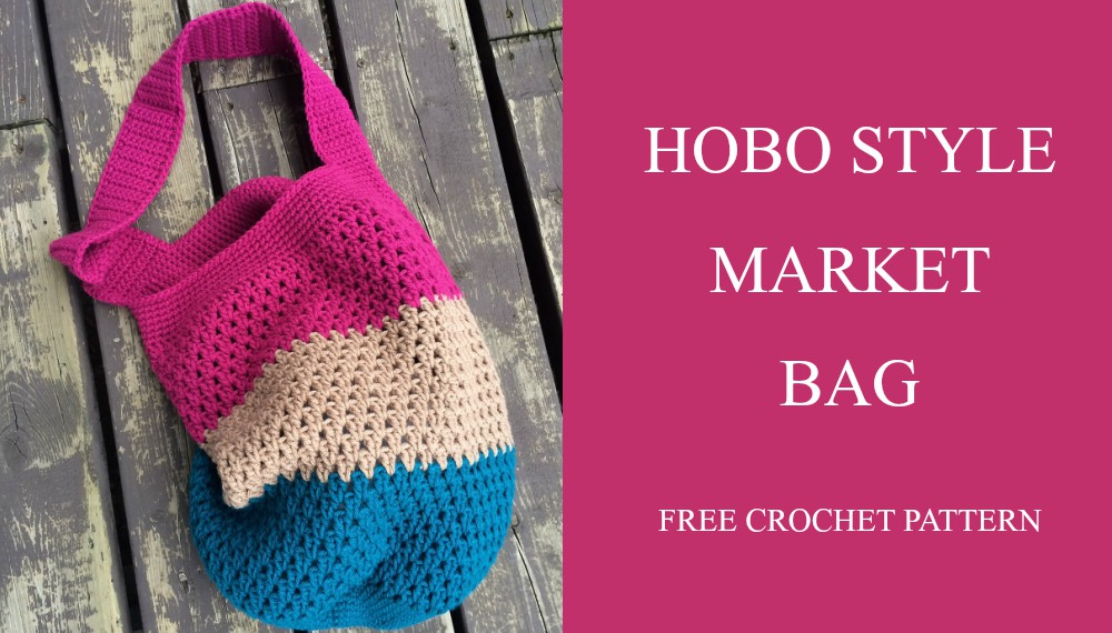 Crochet Market Tote Bag Patterns and Tutorials