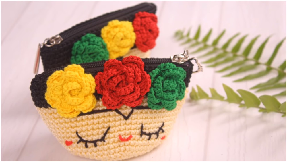 How To Crochet Frida Kahlo Pouch
