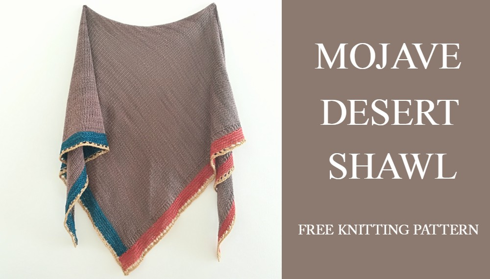 Mojave Shawl Free Knitting Pattern