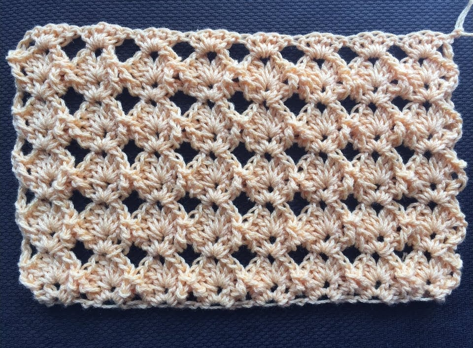 Crochet Summer Stitch Tutorial