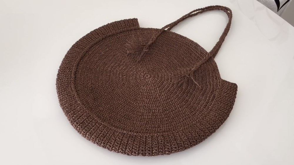 Crochet Mesh Beach Bag