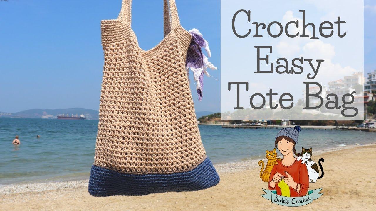 Crochet Easy Summer Tote Bag