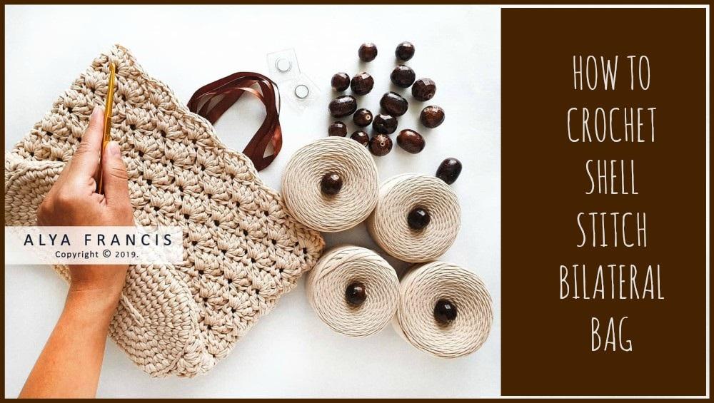 Crochet Openwork Bilateral Handbag