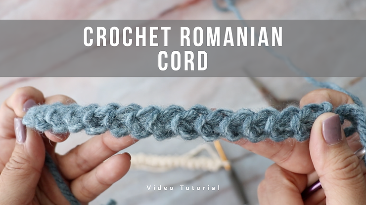 How To Crochet Romanian Lace Cord