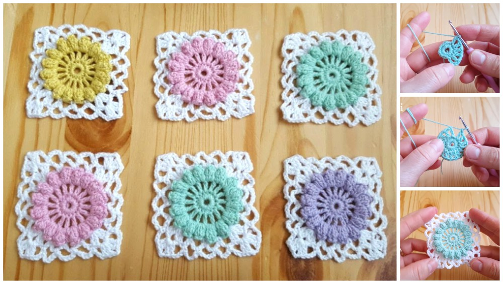 How To Crochet Granny Square Motifs