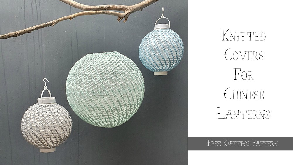Chinese Lantern Free Knitting Pattern