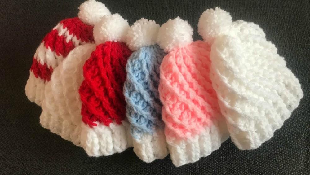 Crochet Easy Swirl Hat For Babies
