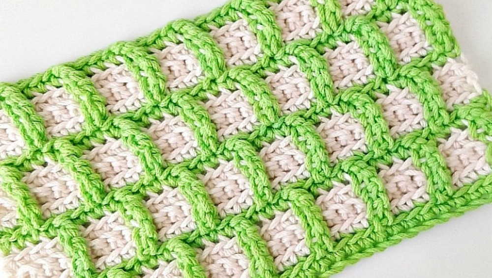 How To Crochet Embossed Box Stitch