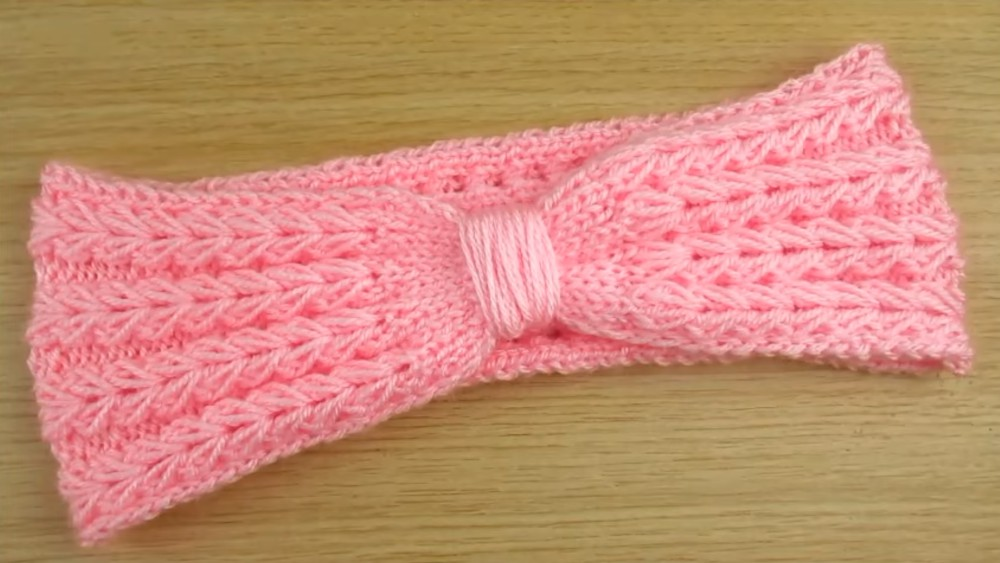 Headband / Ear Warmer Knitting Tutorial