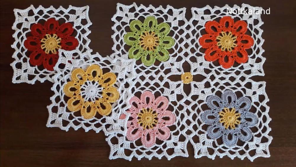 Crochet Easy Granny Square Motif
