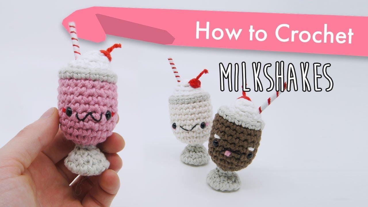 How To Crochet Amigurumi Milkshakes