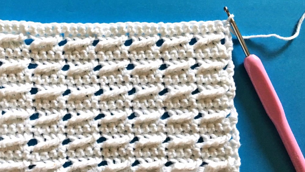 Crochet The Cross Over Stitch