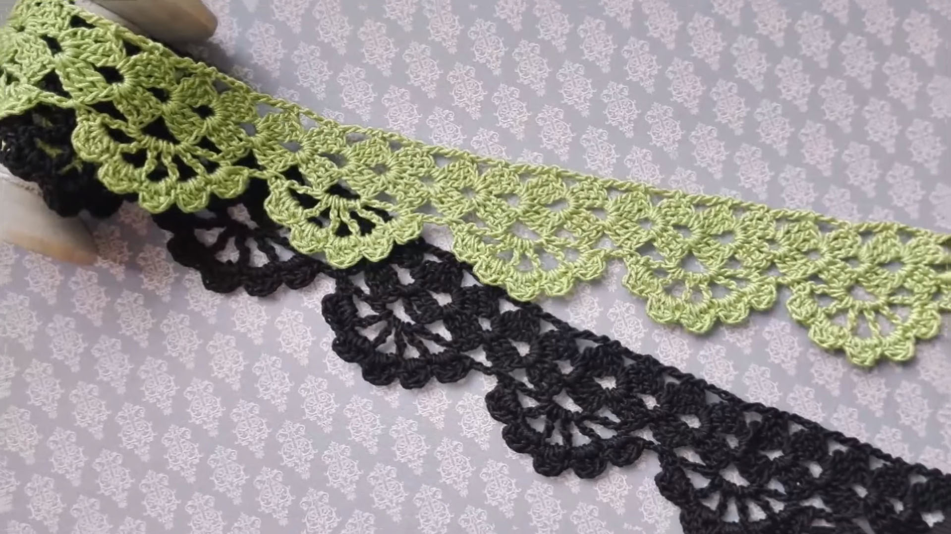 Crochet Lace Tape Edging or Border