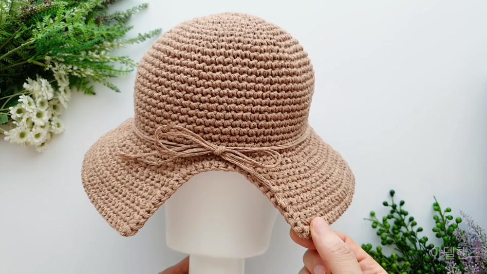 Free Bucket Hat Crochet Pattern