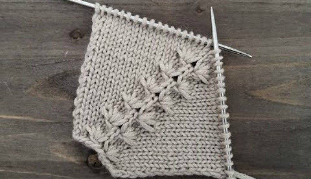 How To Knit The Needle Line