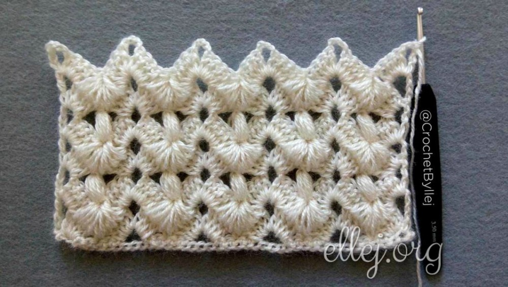 Turkish Puff Stitch Crochet Pattern