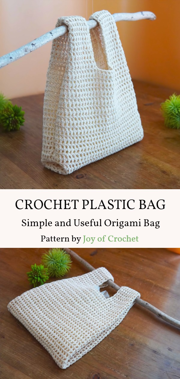 Simple and Useful Crochet Plastic Bag Pattern