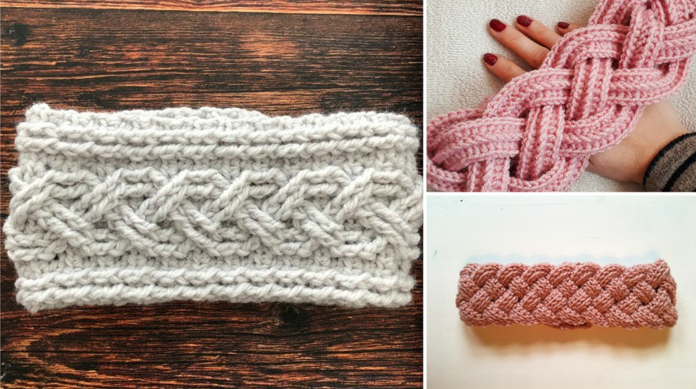 Cable Stitch Crochet Headband Patterns For Beginners