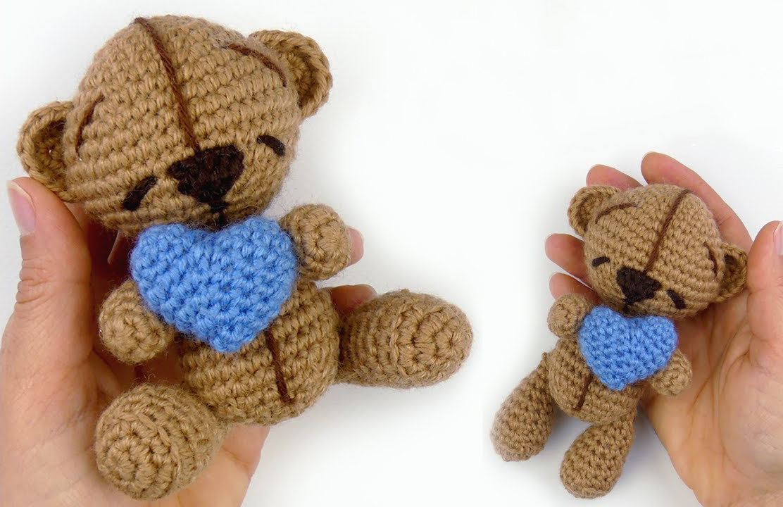 Crochet Amigurumi Bear With Moving Legs – Free Pattern