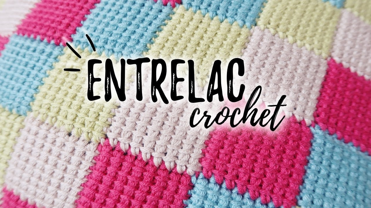 How To Crochet Tunisian Entrelac Stitch Blanket