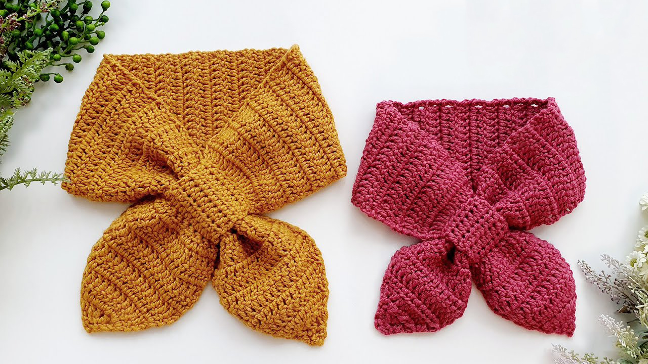Free Ribbon Scarf Crochet Pattern + Video