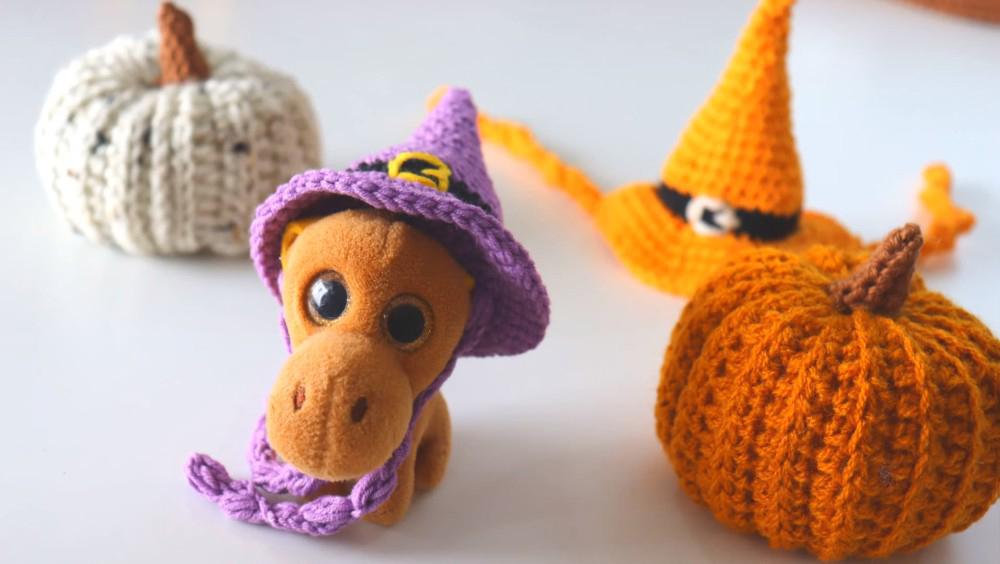 Halloween Crochet Pumpkin Pattern For Beginners