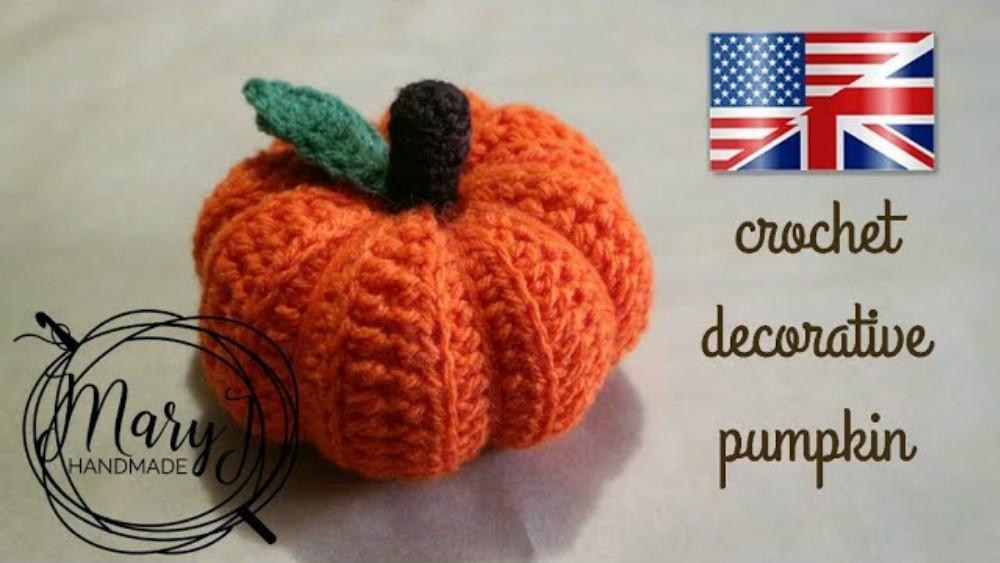 Halloween Pumpkin Set Crochet Tutorial For Beginners