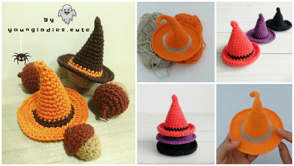 Halloween Witch Hat Crochet Patterns For Beginners