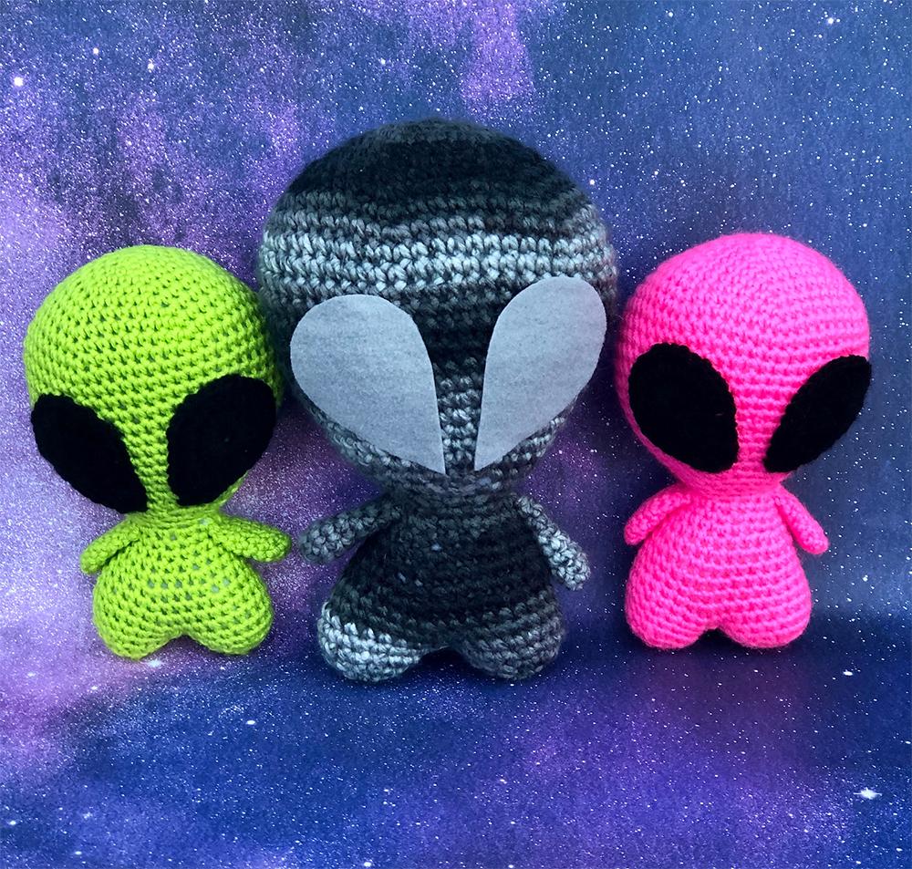 Amigurumi Alien Free Crochet Pattern For Beginners