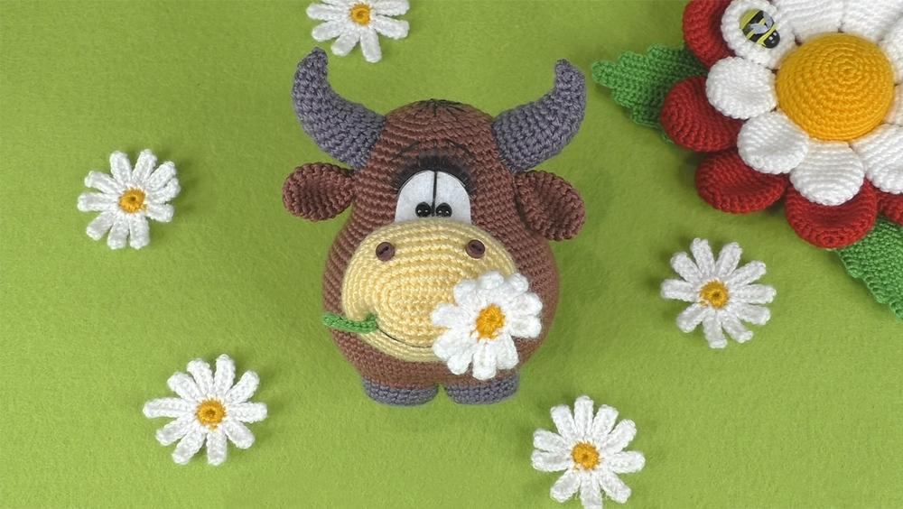 Amigurumi Bull or Cow Crochet Tutorial