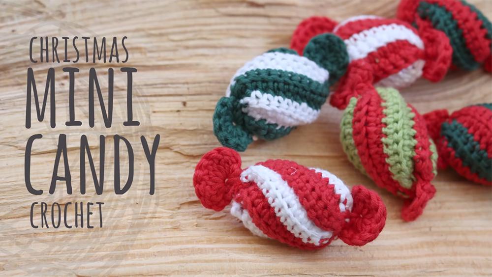 How To Crochet Mini Christmas Candy