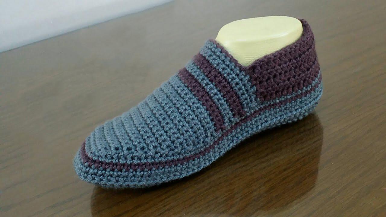 Easy Crochet Slippers For Women And Men