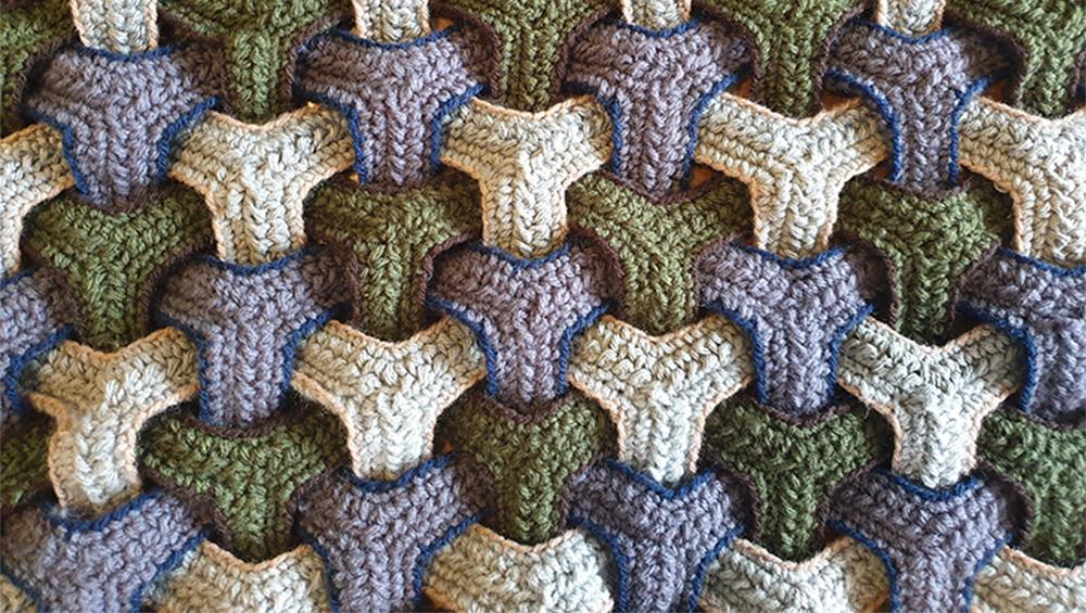 Triweave Crochet Stitch / Free Crochet Pattern