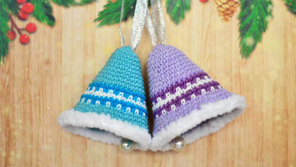 Jingle Bell Crochet Tutorial For Christmas