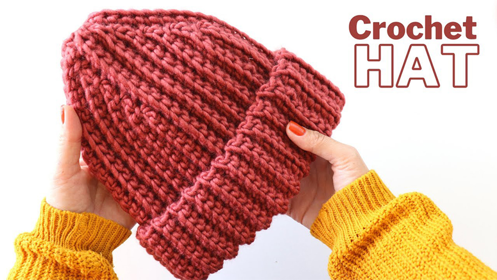 Crochet Classic Unisex Beanie Hat