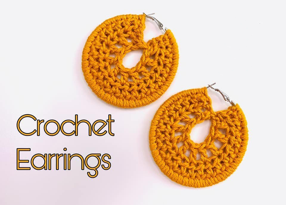 How To Crochet Nice and Easy Earrings