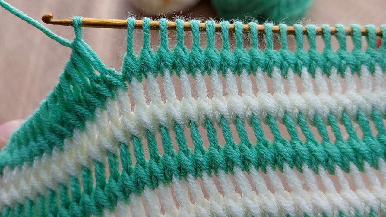How To Crochet The Tadpole Stitch