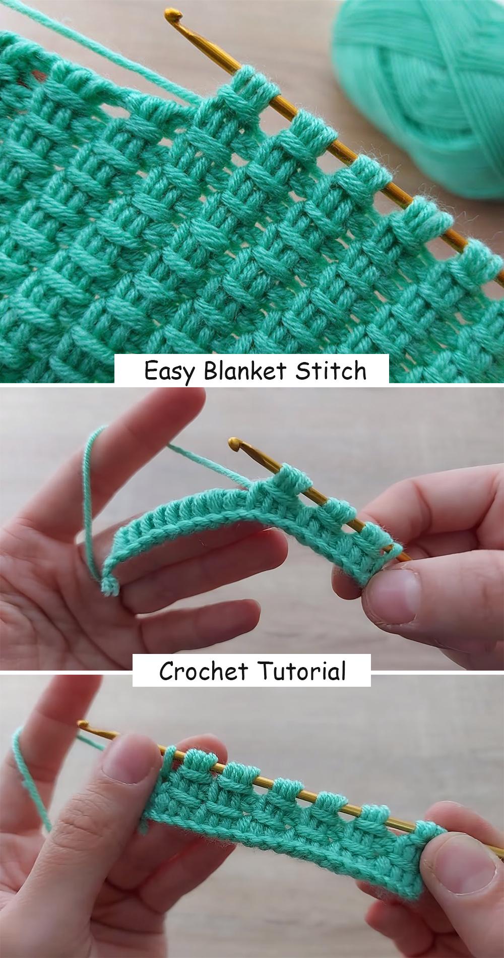 Crochet Blanket Stitch Patterns