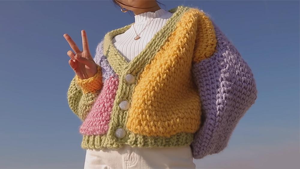 Crochet Chunky Sweater Of Your Dreams // Hope Macaulay Inspired