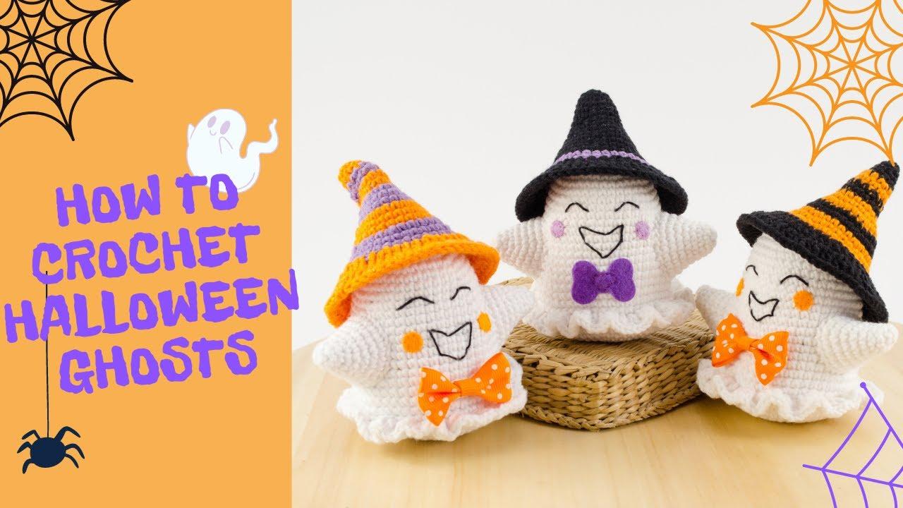 Halloween Ghost Amigurumi Free Crochet Pattern